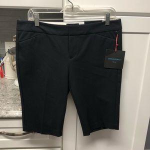 Cynthia Rowley Pia Shorts Size 8 Slim City Black